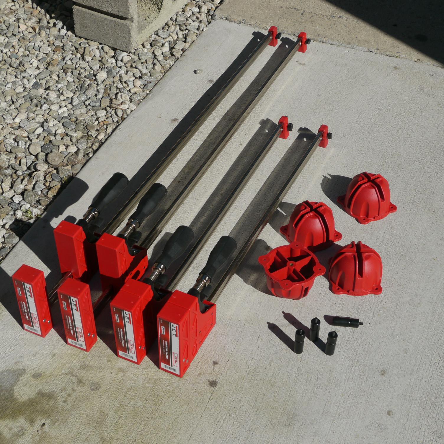Parallel Bar Clamp Jet Framing Kit 40 And 24 K B