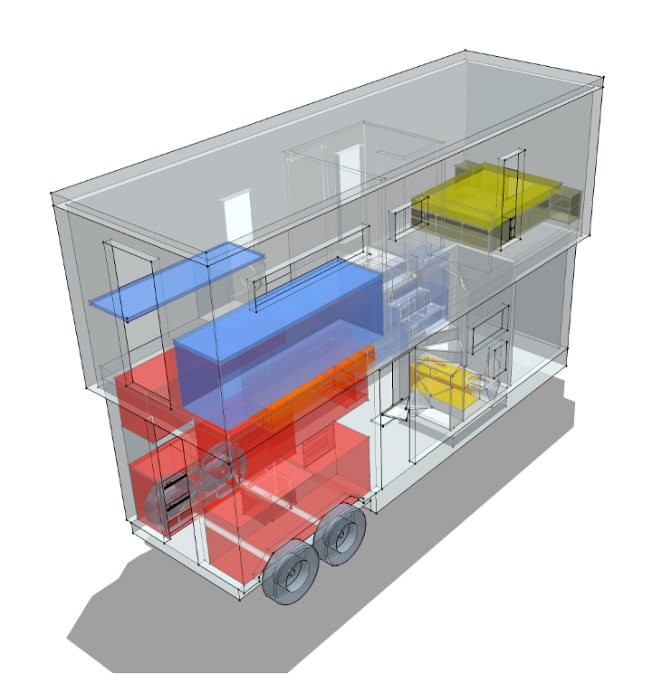 DIY Trailer Home   Schematic Design Progress
