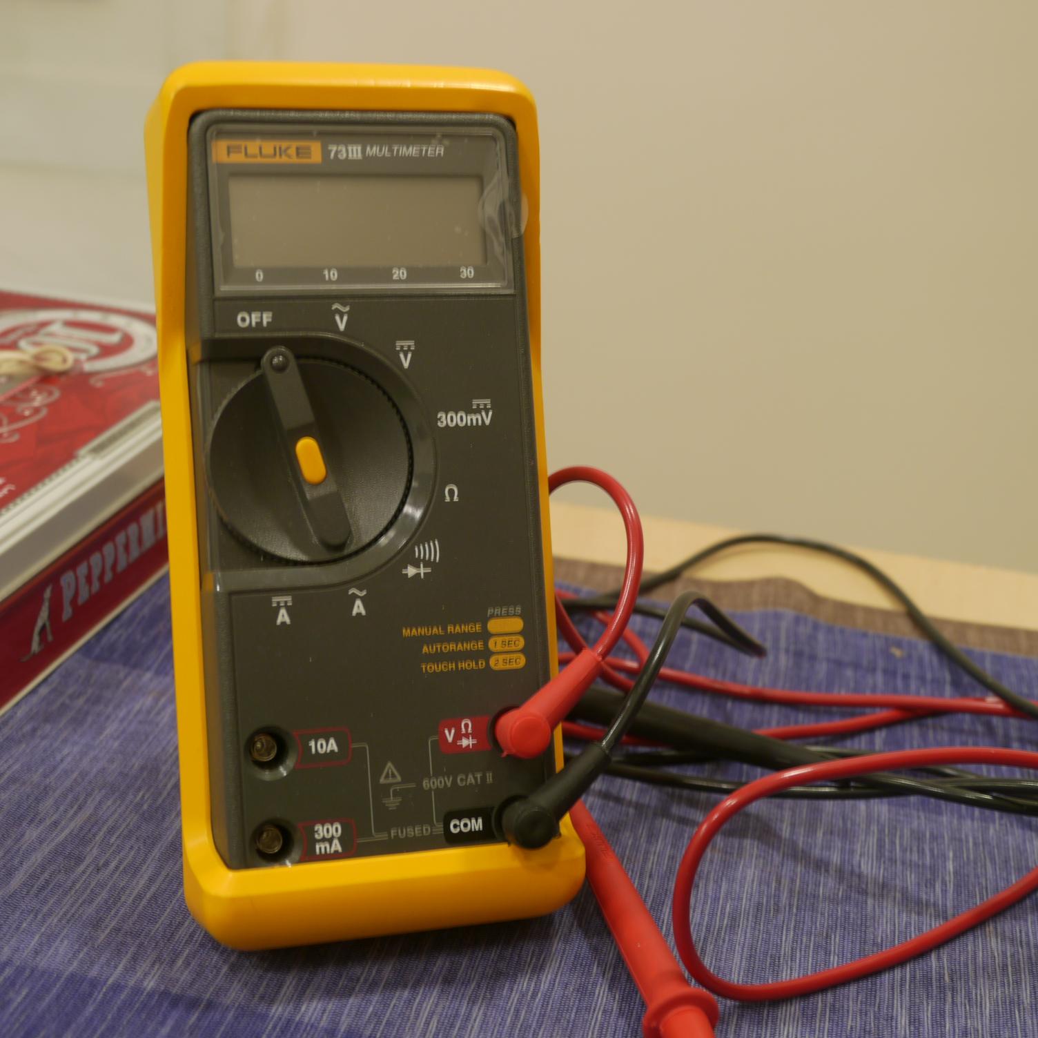 multimeter fluke 73 iii k b org rh k b org Fluke 189 Fluke 189 Service Manual