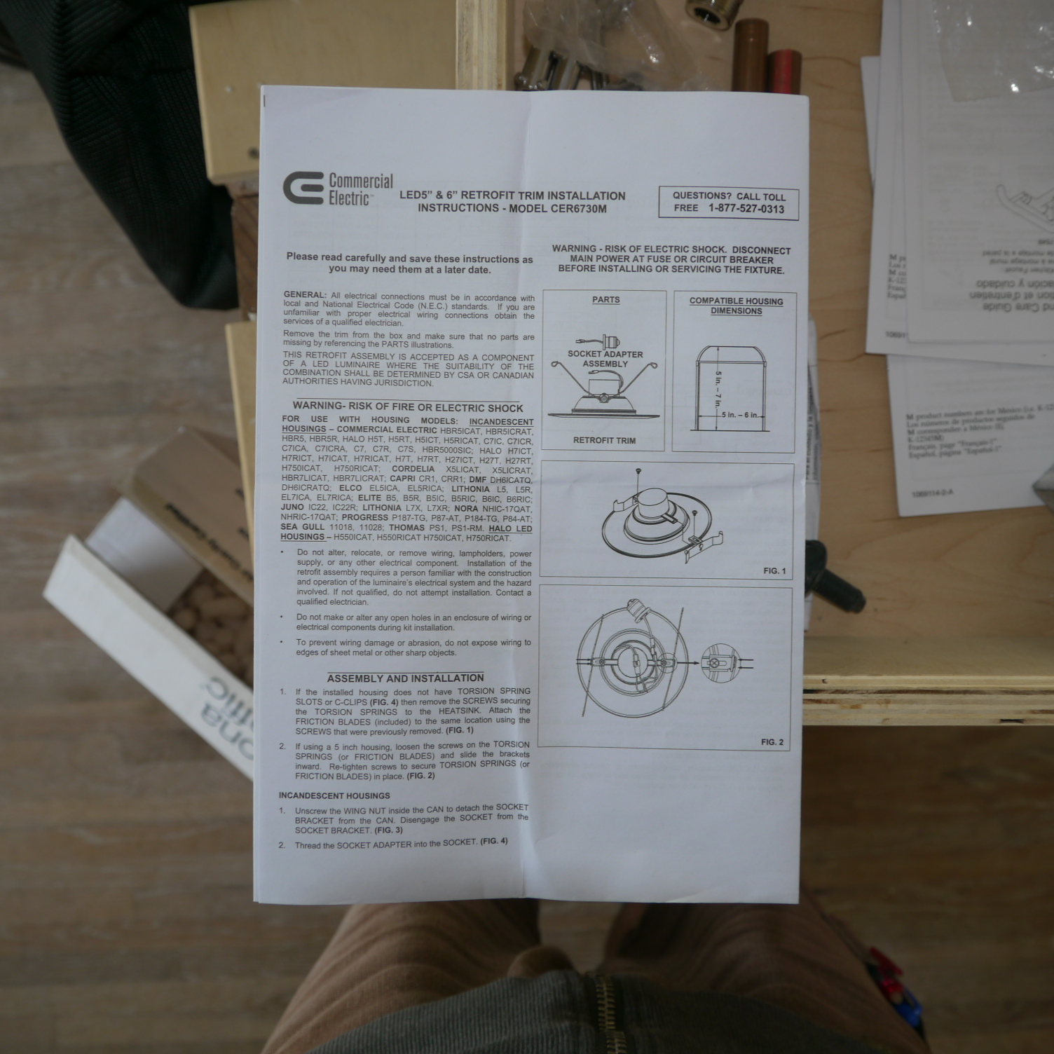 Best Commercial Electric Recessed Lighting Installation Instructions ...