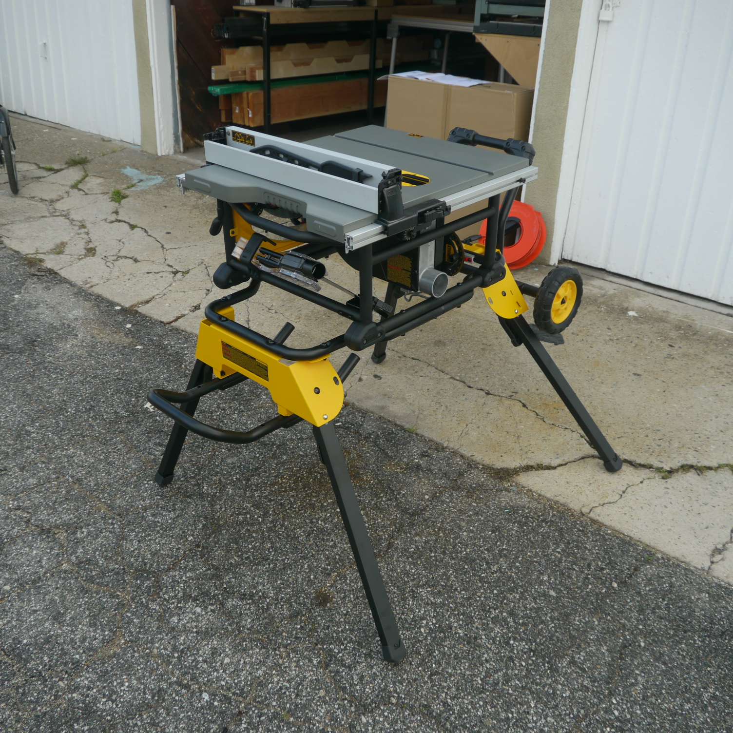 dewalt saw id enhancements table